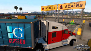 American truck simulator free demo