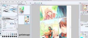 cartoon design in clip studio paint edition